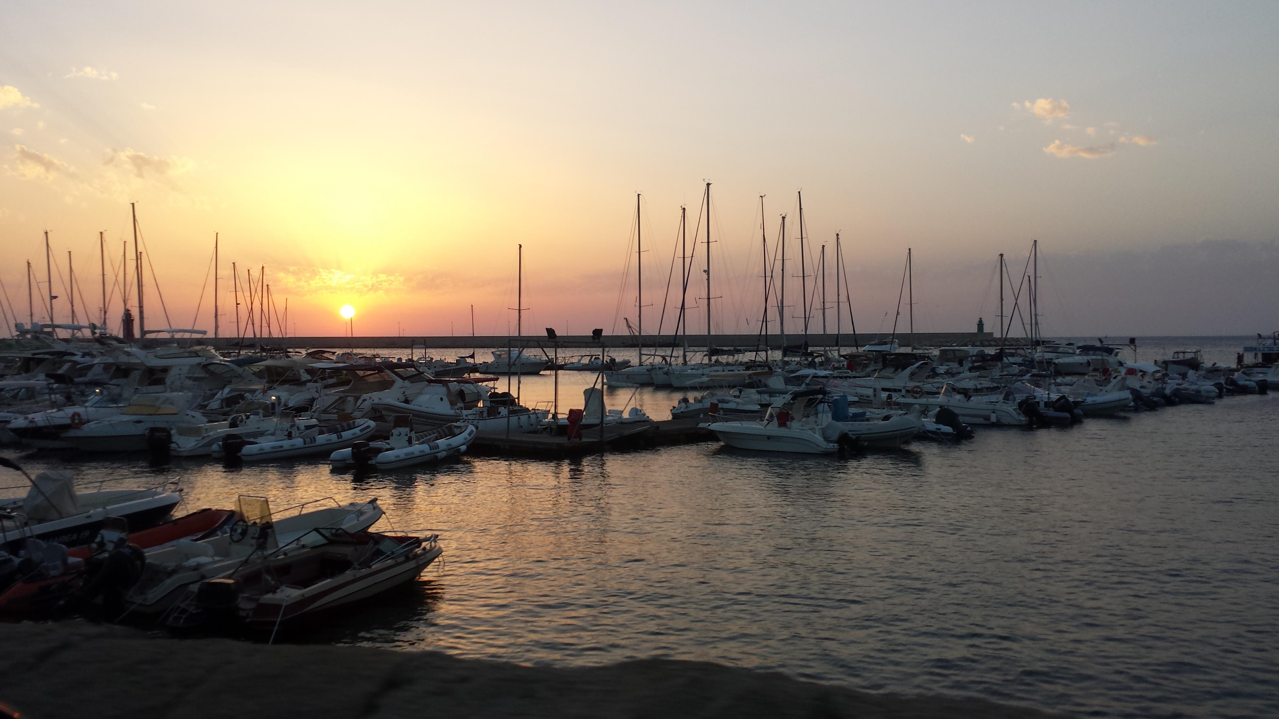 Gallipoli. Sunset.